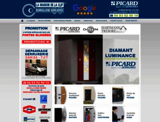 maisondelaclef.com screenshot