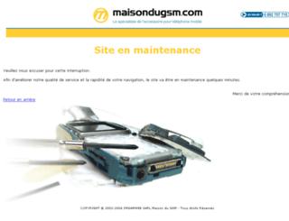 maisondugsm.com screenshot