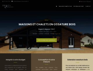 maisons-bois-brives.fr screenshot