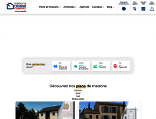 maisons-france-confort.fr screenshot
