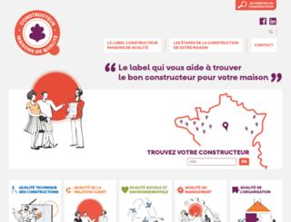 maisons-qualite.com screenshot