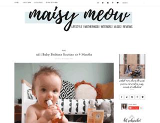 maisymeow.com screenshot