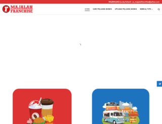 majalahfranchise.com screenshot