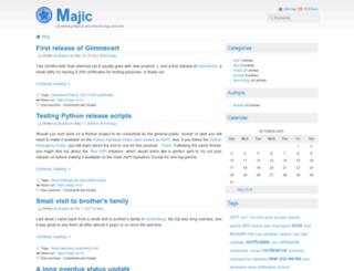 majic.rs screenshot