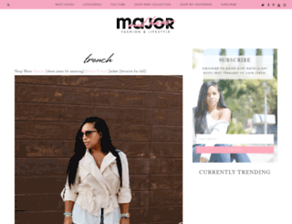 majormusthaves.com screenshot