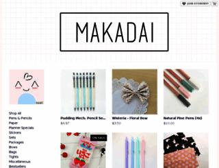 makadai.storenvy.com screenshot