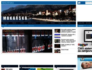 makarska-hr.com screenshot