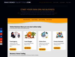 make-money-online-today.com screenshot