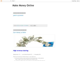 make4moneyfromonline.blogspot.com screenshot
