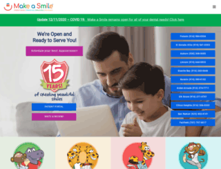 makeasmile.com screenshot