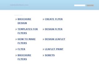 makebetterflyers.com screenshot