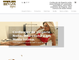 makelingerie.com.br screenshot