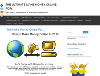 makemoneyonlinepdf.com screenshot