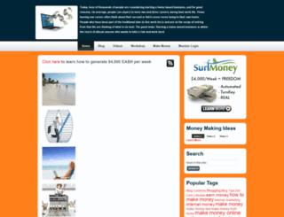 makemoneyparttimeonline.com screenshot