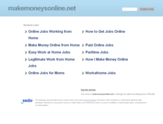makemoneysonline.net screenshot