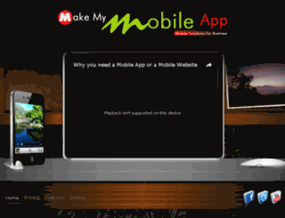 makemymobileapp.net screenshot