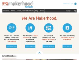 makerhood.com screenshot
