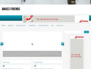 makesfriends.com screenshot