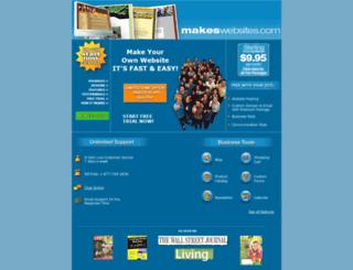 makeswebsites.com screenshot