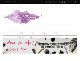 makeuputopia.com screenshot