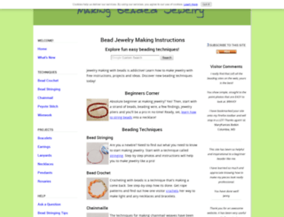 making-beaded-jewelry.com screenshot