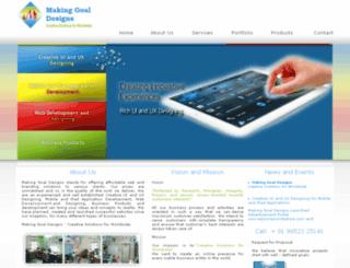 makinggoal.com screenshot
