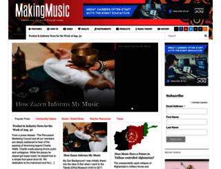 makingmusicmag.com screenshot