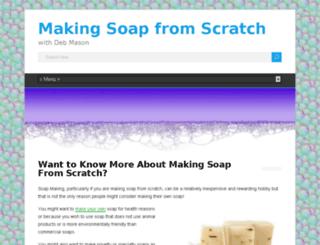 makingsoapfromscratch.com screenshot