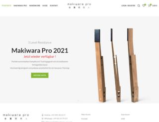 makiwara-shop.com screenshot