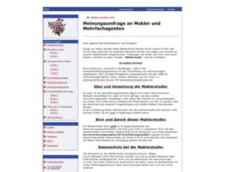 maklerstudie.info screenshot