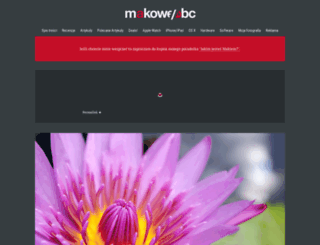 makoweabc.pl screenshot