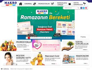 makromarket.com screenshot