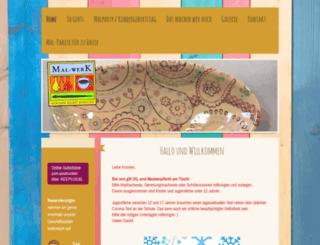 mal-werk.com screenshot