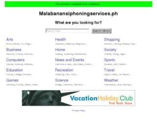 malabanansiphoningservices.ph screenshot