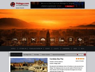 malaga.com screenshot