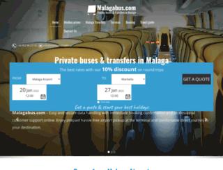 malagabus.com screenshot