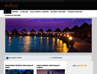 malaisievoyage.com screenshot