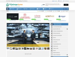 malatyaportal.com screenshot