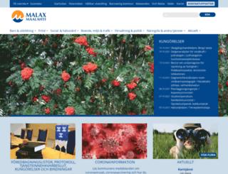 malax.fi screenshot