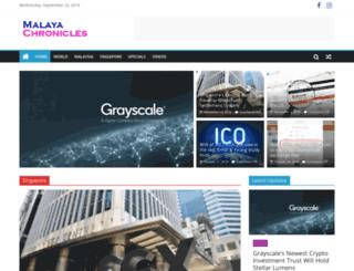 malayachronicles.com screenshot