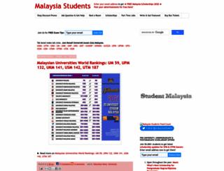 malaysia-students.com screenshot