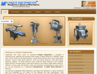 malaysia.uniqueequipments.com screenshot
