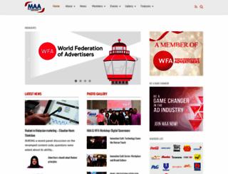 malaysiaadvertisers.com.my screenshot