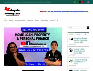 malaysiahousingloan.com screenshot