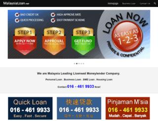 malaysialoan.net screenshot