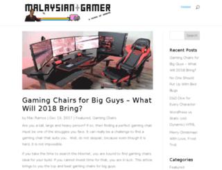 malaysiangamer.com screenshot