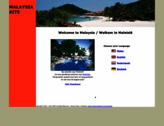 malaysiasite.nl screenshot