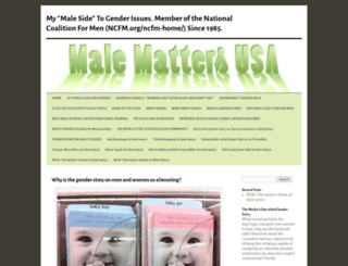 malemattersusa.wordpress.com screenshot