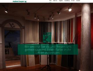 malereilauper.ch screenshot