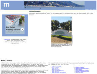 malibucomplete.com screenshot